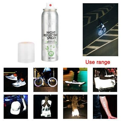 Night Reflective Spray For Bike Paint Reflecting Anti Accident Riding Bike.