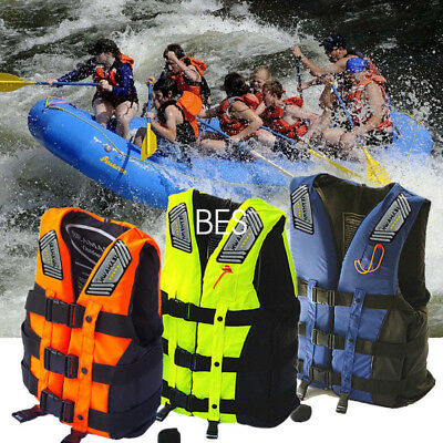 Adult Life Jacket Adjustable Buoyancy Aid Sailing Fishing Kayak Vest Preservers