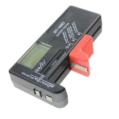 LCD Battery Checker Volt Tester Cell AA AAA C D 9V 1.5V Button Battery