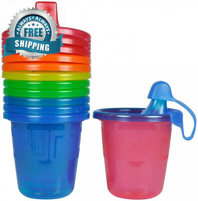 The First Years Take & Toss Spill-Proof Sippy Cups - Multicolor 7 oz 6 ct