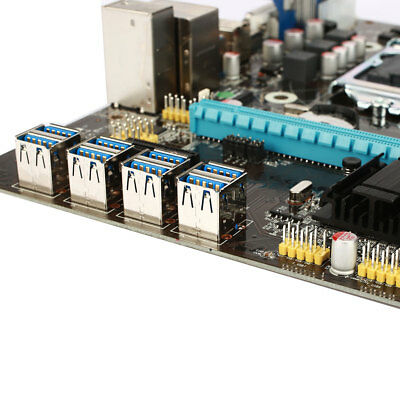 B85 BTC ETH Mainboard Motherboard Computer Directly Slots Extender Card