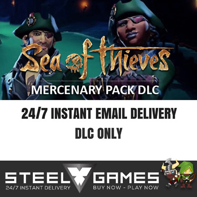 Sea Of Thieves - Mercenary Pack Dlc - Xbox One Code/key - 24/7 Instant Delivery