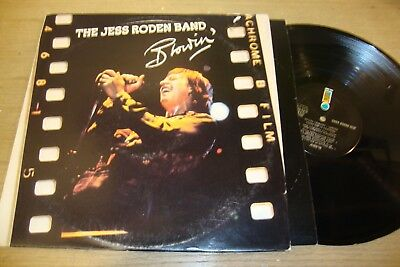 The Jess Roden Band - Blowin - LP Record  VG+ G+