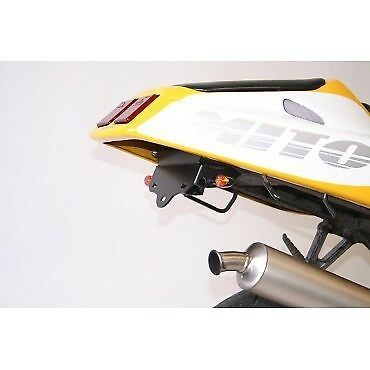 CAGIVA 125 MITO-90/08-SUPPORT DE PLAQUE R&G Racing-443895