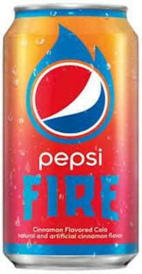 "Pepsi Fire Full Can ""Limited Edition 2017"" Collectable Can"