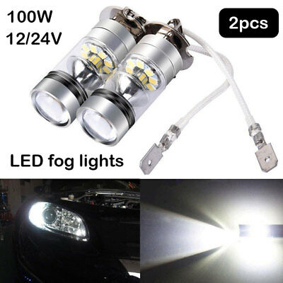 LED Fog Light Driving Bulb Fog Lamp Auto Vehicle High Power Replacement