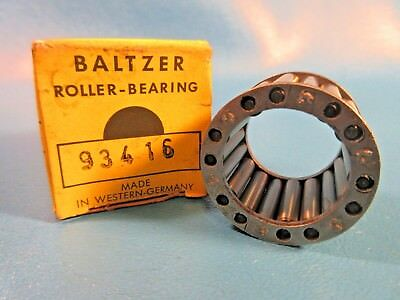 Baltzer Roller Bearing 93416, Caged Needle Roller Assembly, Germany