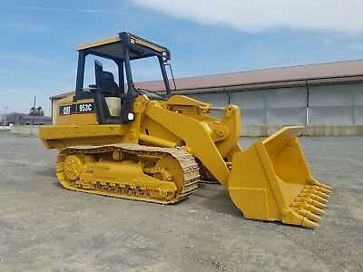 2000 Caterpillar 953C Track Loader Diesel Engine Hydraulic Hystat Machinery Cat