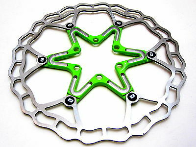 Quaxar Vert Clair Ultra Léger Flottant Rotor 180 mm 180mm Cannondale Merida