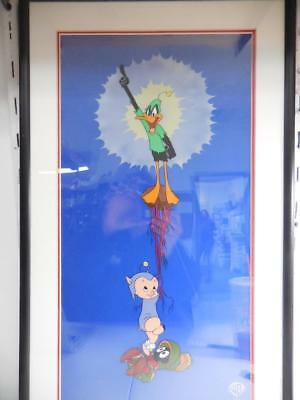 Warner Bros. 'Duck Dodgers in the 24 1/2 Century!' Limited Edition Sericel
