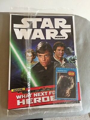 Star Wars Insider Official Magazine issue 160 - Sealed With Card