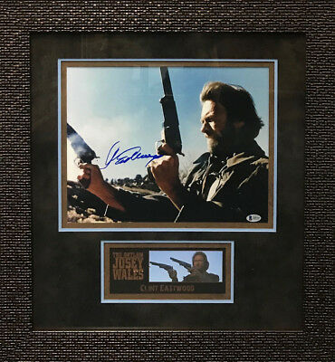 1976 DEPICTION CLINT Eastwood Outlaw Jose Wales Signed 11x14 Photo