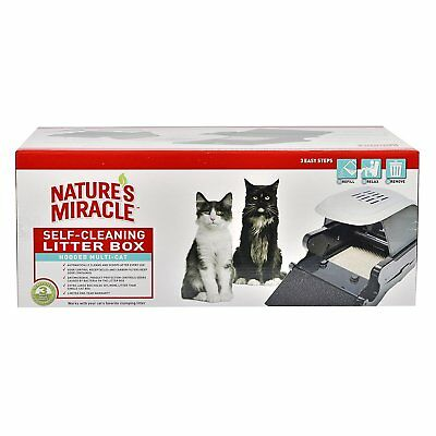 Natures Miracle Hooded Multi-Cat Self-Cleaning Litter Box NMA900