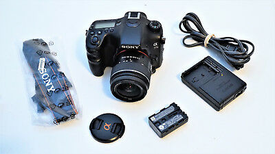 Sony Alpha a77 II 24.3MP DSLR with 18-55mm Lens