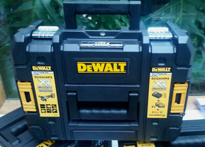 "DeWalt Carry Case for DCG406 18V XR Brushless Cordless 125mm (5"") Angle Grinder"
