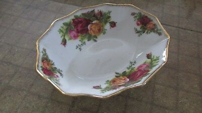 Royal Albert Old Country Roses Sweet Meat Dish free shipping