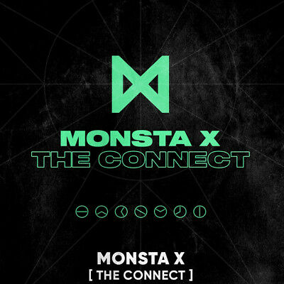 MONSTA X [THE CONNECT:DEJAVU] Album CD+POSTER+Photo Book+2Card+GIFT K-POP SEALED
