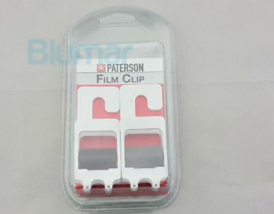 Paterson Photographic Film Clip Set PTP218 WEIGHTED FILM HANGING DRYING CLIPS