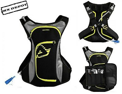 Acerbis Aqua Drink Back Pack Enduro Mtb Cycling Pack Bag & Hydro