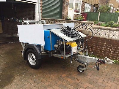 Wheelie Bin Cleaning Trailer Morclean Bin Wash Custom Plus Fully Recycles Water