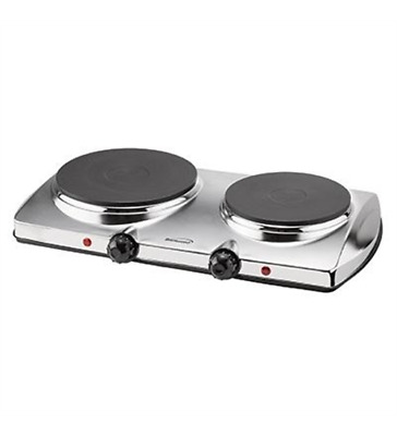 New Brentwood TS-372 Electric Dble Hot Plate 1440W