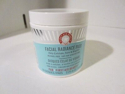 First Aid Beauty Facial Radiance Pads-60 ct. NEW,  Fresh Stock