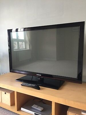 SAMSUNG 42 PLASMA tv - £100.00 | PicClick UK