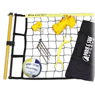 Park and Sun Spiker Flex Volleyball Net System Set