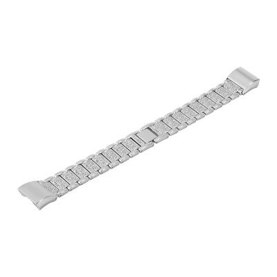 Stainless Steel Wrist Strap Watch Band Bracelet Replace for Fitbit Charge2 TH665