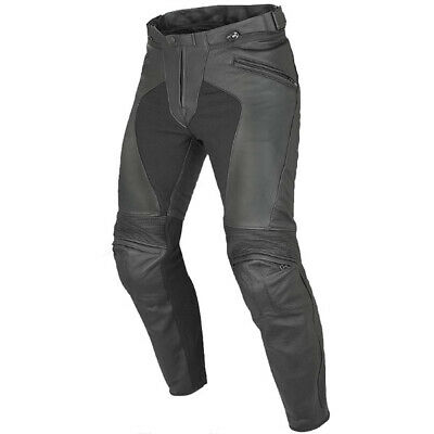 Dainese Ladies Pony C2 Leather Motorcycle Trousers - Black