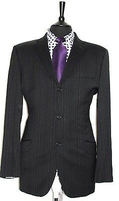 Luxury Men's Ben Sherman Tailor Made Striped Suit 42L W36 X L34