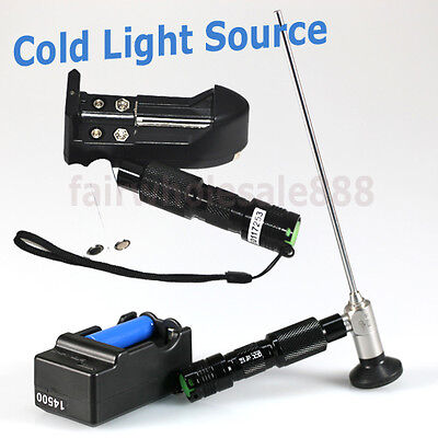 From USA! Handheld LED Cold Light Source Fit Storz Olympus ACMI Endoscopy 3-10W