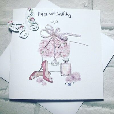 Womens 30th Handmade Birthday Card Daughter Granddaughter Sister