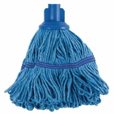 Jantex Bio Fresh Socket Mop Blue Kitchen Restaurant Catering Cleaning Supplies