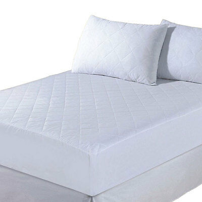 Luxury Quilted Extra Deep Fitted Mattress Protector Bed Cover