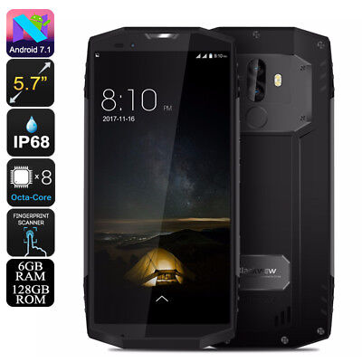 Blackview BV9000 Pro Rugged Phone -6GB RAM, Android 7.1, IP68, 4180mAh, 13MP Cam