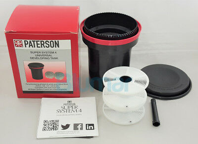 Paterson Super System 4 Universal Developing Tank Ptp115 + 2 Reels