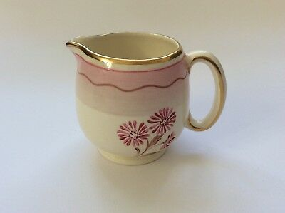 "GRAY's Pottery ""Art Deco"" hand-painted Creamer/jug dated 1937-38 FREE P&P!"