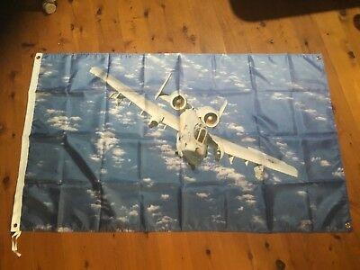 A-10 warthog raaf usaf Air Force raf Veterans  man cave flag shed sign poster