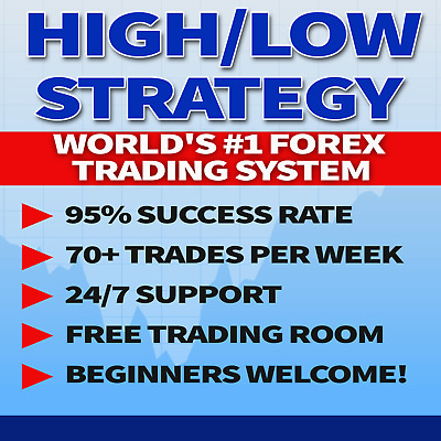 FOREX: Stunning High/Low Forex Strategy. **2-DAY SALE! $99 instead of $124.99**