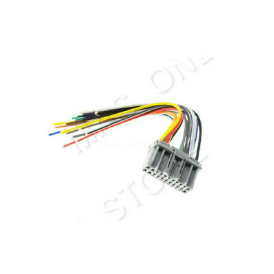CAR STEREO CD Player Male Wiring Harness Wire Adapter Plug For Chrysler on