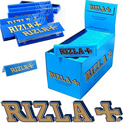 100% GENUINE RIZLA BLUE REGULAR Cigarette Rolling Papers Original Tobacco Paper