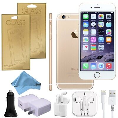 Apple iPhone 6 Gold 64GB (Factory Unlocked) Works/W AT&T Verizon T-Mobile GSM