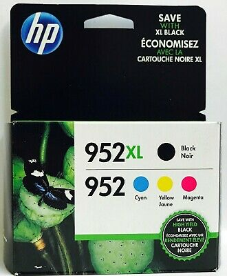 HP GENUINE 952XL/952 BCMY Box For Officejet Pro 7720 7730 7740 8200 8210 8216