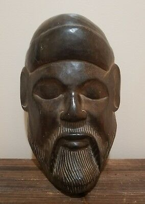 Choi Sun Hand Carved Wood Mask