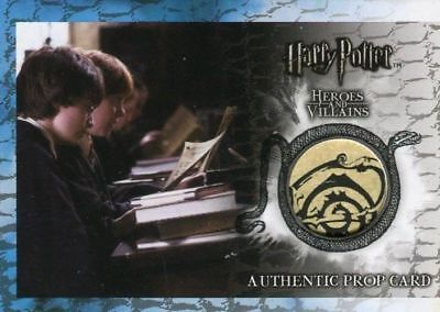 Harry Potter Heroes & Villains Knowledge Test Prop Card P3 HP #097/200