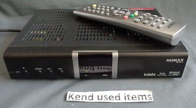 HUMAX IR-FOX C zwart digitale TV ontvanger receiver decoder PVR ZIGGO CAIWAY