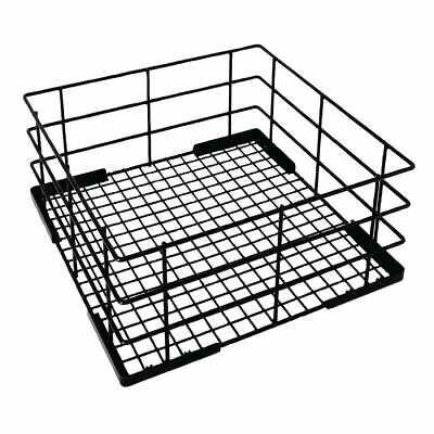 Vogue Wire High Sided Glass Basket Dishwasher Cutlery Tray Holder Storage