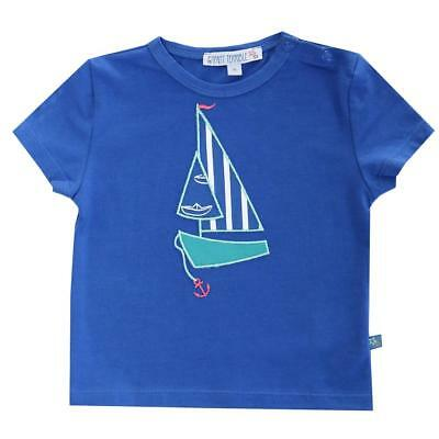 Enfant Terrible Baby T-Shirt Segelboot Bio-Baumwolle