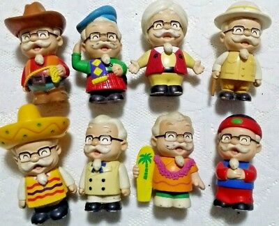 MIP Thailand KFC Colonel Sanders Around the World Figure